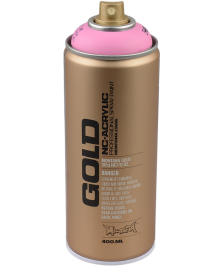 Montana Montana Gold Sprühdose 400ml Shock Pink Light