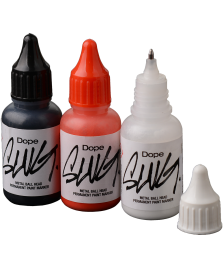 zusätzliche Marke Marker Set Dope Paint Marker Slug Mini Metal Head 20ml black red white