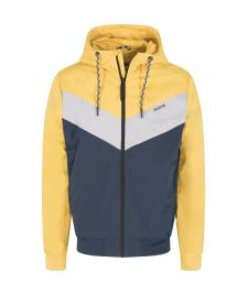 Mazine Männer Jacke Mazine Duns Light Jacket yellow / navy