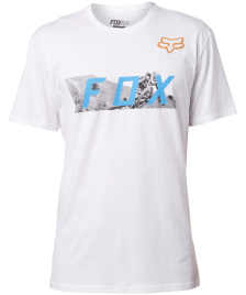 Fox Männer T-Shirt Fox Ghostburn optic white