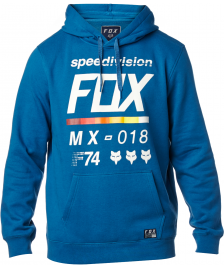 Fox Männer Pullover Fox District 2 Fleece dusty blue