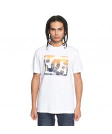 DC Shoes Männer T-Shirt DC Shoes Empire Henge snow white