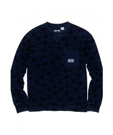 Element Herren Pullover Indigo Fleece Crew indigo blue