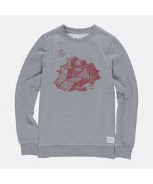 Element Männer Pullover Ramps Crewneck grey heather