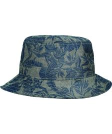 Globe Globe Hut Union Bucket Hat grey palms