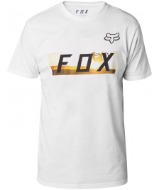 Fox Männer T-Shirt Fox Ghostburn Tech Tee optic white