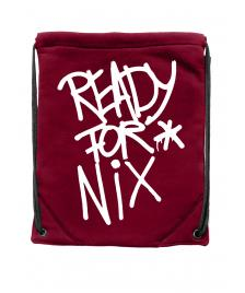 Aight Gymbag Aight Ready For Nix Tag Logo maroon