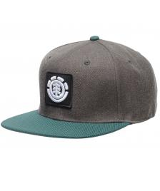 Element Snapback Cap Element United Cap B black heather