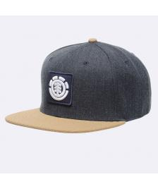 Element Snapback Cap Element United Cap B eclipse heather