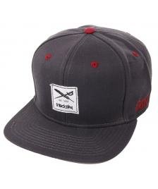 Iriedaily Iriedaily Cap Daily Flag Snapback Hat anthracite