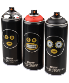 Montana Sprühdosen Montana Black limited Artist Edition Emoji Emoticons 3x400ml