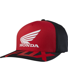 Fox Flexfit Basic Cap Fox Honda red black