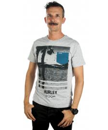 Hurley Hurley T-Shirt Not Goin Out Pocket Tee heather grey