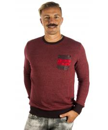 Hurley Hurley Pullover Cruiser Crewneck Sweatshirt team red