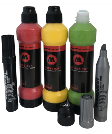 Molotow Molotow Marker Dripstick Reggae Pack Permanent 860DS