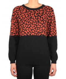 Iriedaily Frauen Pullover Iriedaily Blotchy earth red