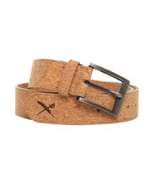 Iriedaily Gürtel Iriedaily Cork Flag Belt light brown