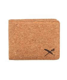 Iriedaily Geldbeutel Iriedaily Cork Flag Wallet light brown