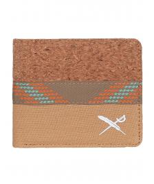 Iriedaily Geldbeutel Iriedaily Cork Mix Wallet light brown