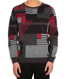 Iriedaily Männer Pullover Iriedaily Crazy Fresh Knit hunter red