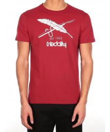 Iriedaily Männer T-Shirt Iriedaily Harpoon Flag T earth red