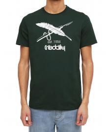 Iriedaily Männer T-Shirt Iriedaily Harpoon Flag Tee hunter
