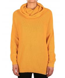 Iriedaily Frauen Pullover Iriedaily Mock Turtle Knit honey