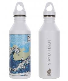 Iriedaily Trinkflasche Iriedaily Trash Wave Bottle white