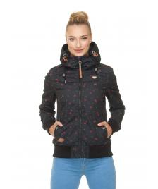 Ragwear Frauen Jacke Ragwear Jotty Berries black