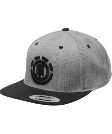 Element Cap Element Knutsen Snapback Hat grey heather
