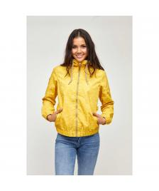 Mazine Frauen Jacke Mazine Library Light Jacket yellow allover