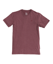 Cleptomanicx Männer T-Shirt Cleptomanicx Ligull Regular heather tawny port
