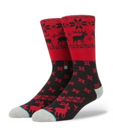 Stance Socken Stance Blue Blitzn red