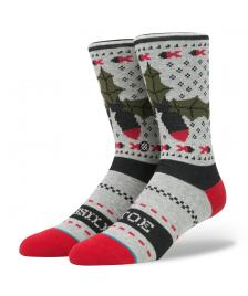 Stance Socken Stance Blue Missle Toe grey