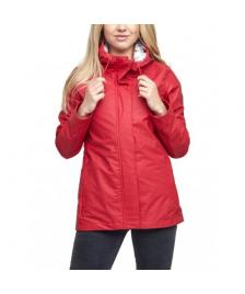 Mazine Frauen Regenjacke Mazine Kimberley red/ thin stripes