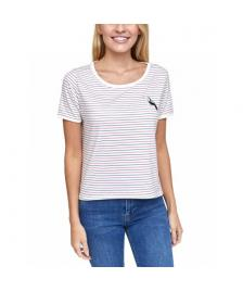 Mazine Frauen T-Shirt Mazine Ysabel navy red striped