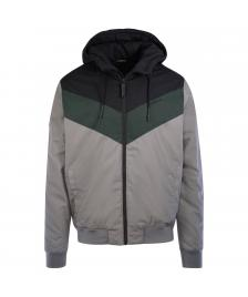 Mazine Männer Jacke Duns Jacket black dark grey