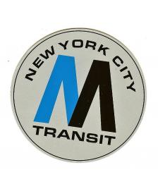 OTR Magnet OTR On The Run New York MTA Logo groß