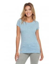 Ragwear Frauen T-Shirt Ragwear Mint A Organic dusty blue