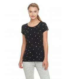 Ragwear Frauen T-Shirt Ragwear Mint Strawberrys black