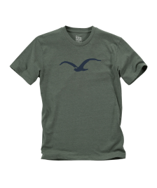 Cleptomanicx Männer T-Shirt Cleptomanicx Basic Tee Möwe heather dark olive
