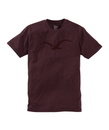 Cleptomanicx Männer T-Shirt Cleptomanicx Basic Tee Möwe heather tawny port