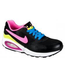 Nike Nike Schuhe Womans Air Max ST (GS) black pink pow white