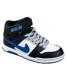 Nike SB Nike SB Kinderschuhe Mogan Mid 2 Junior B white game royal obsidian
