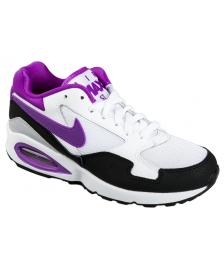 Nike Nike Schuhe Womens Air Max ST white vivid purple black