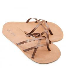 Volcom Frauen Sandalen Volcom New School brown
