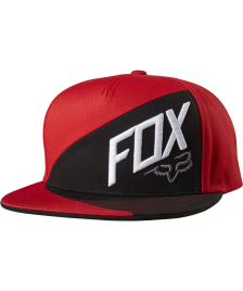 Fox Snapback Cap Fox Overlapped flame red