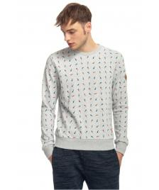 Ragwear Männer Pullover Ragwear Ramon light grey
