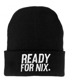 Aight Aight Mütze Ready For Nix Bold Logo Embroid Beanie black
