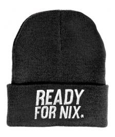 Aight Aight Mütze Ready For Nix Bold Logo Embroid Beanie heather charcoal